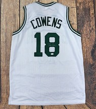DAVE COWENS AUTOGRAPHED/SIGNED CUSTOM WHITE JERSEY JSA AUTHENTICATED - $88.11