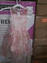 Zenzi Girls' Floral Dress Pink M plus - $12.00