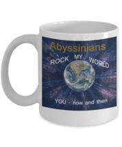 Abyssinian Cat Coffee Mug - $14.92