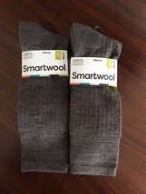 2X Smartwool Men's New Classic Rib Socks Taupe Large New - $32.93