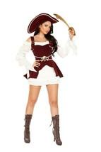Roma Sexy Armed Pirate 4pc Corset Dress Costume 4919 - $89.99
