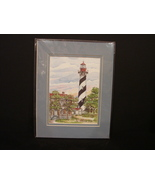 St. Augustine Lighthouse Print by Donna Elias - $12.00