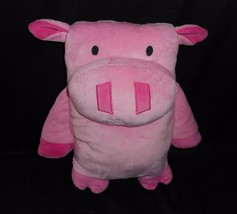Circo Pink Decorative Novelty Mini Bunny Plush Pillow Polyester Kids at Home