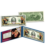 USA $2 Dollar Bill GONE WITH THE WIND *O'Hara & Butler* Legal Tender - £13.22 GBP