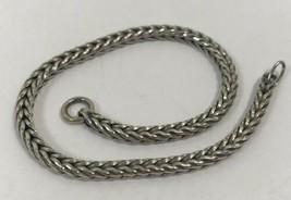 Authentic Trollbeads Troll  .925 Sterling Silver Bracelet, 7.9 Inch, 152... - $34.19