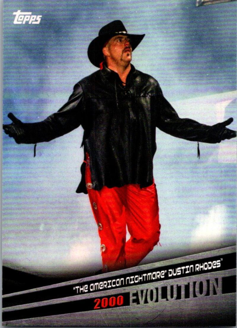 Primary image for 2018 Topps WWE Evolution #E-19 The American Nightmare Dustin Rhodes NM-MT