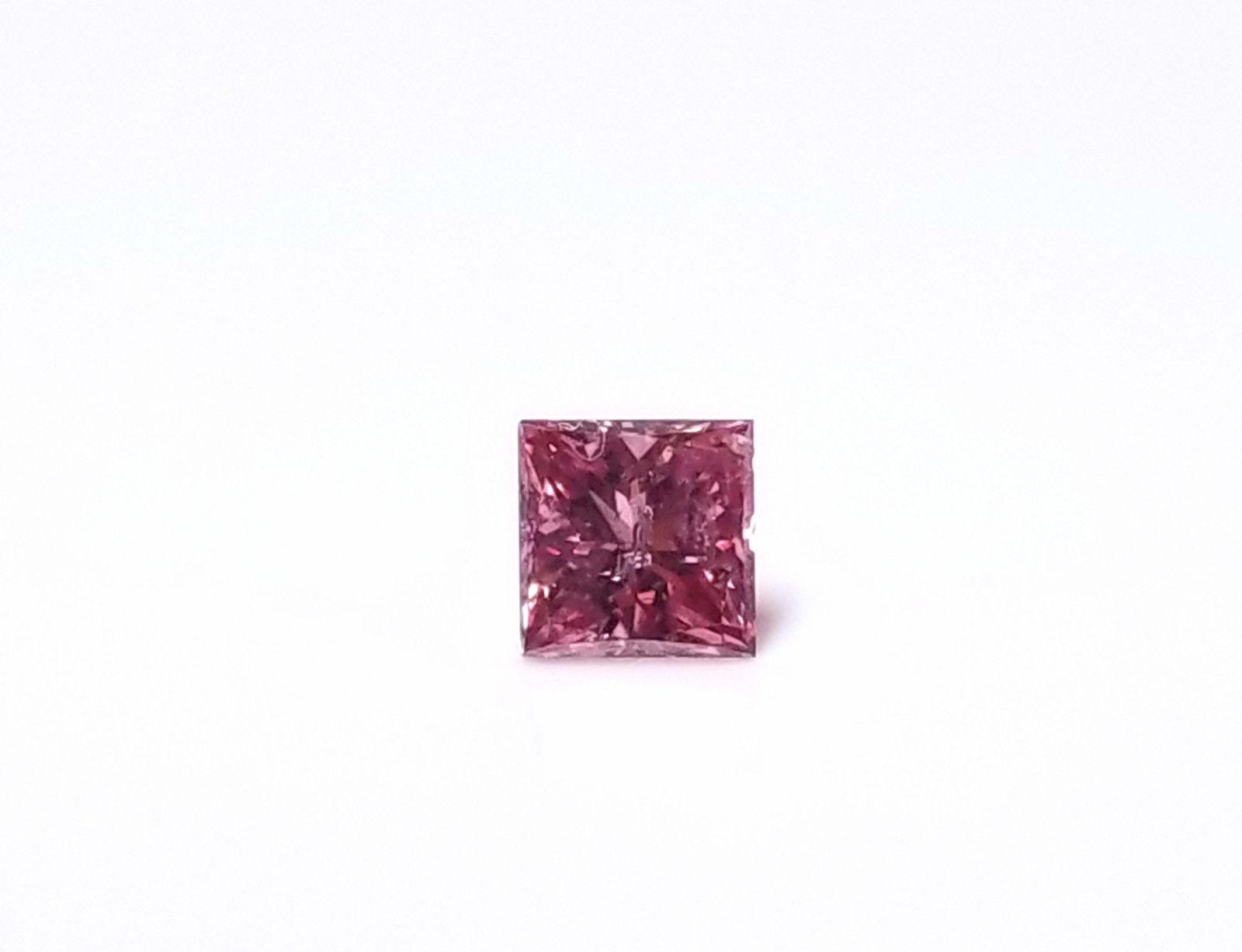 Real 0 23ct Argyle Natural Loose Fancy Intense Purple Pink