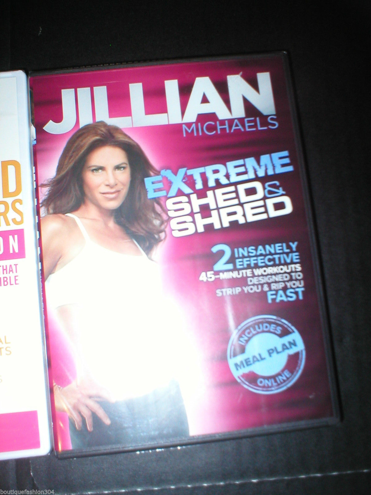 New DVD 3 Lot Yoga Shed & Shred Method Jillian Michaels Tracy Anderson 6 Workout image 5