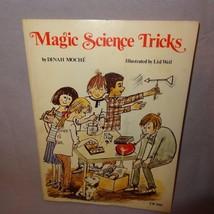 Magic Science Tricks Paperback Book 1977 Scholastic Dinah Moche Homeschool - $10.00