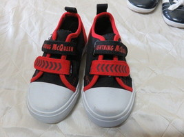 Red Disney Cars Lightning McQueen Kids Shoes Size 6 Runners - $11.22