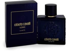 Roberto Cavalli Uomo La Notte Cologne 3.4 Oz Eau De Toilette Spray image 3