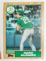 Mark McGwire 1987 Topps #366 Baseball Card          km - $8.00