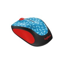 Logitech M317c Wireless Mouse Memphis Blue 910-004337 - $27.42