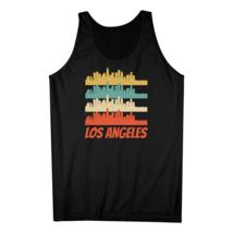 Los Angeles CA Skyline Retro Style Pop Art Tank Top - €15,80 EUR+