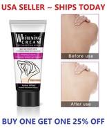 Dark Skin Whitening Bleaching Cream for Sensitive Area Armpit Legs Knees... - $5.98