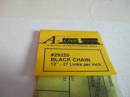 """A-Line #29220 Black Chain 12"""" - 27 Links per inch image 2"""