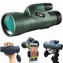 Gosky 12x55 High Definition Monocular Telescope and Quick Smartphone Hol... - $89.65