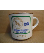 Governor's Roundup For Scouting 1974 Mug Thanks Marvin Mandel Marland BS... - $16.95