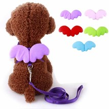 Cute angel pet dog leashes collars 8 thumb200