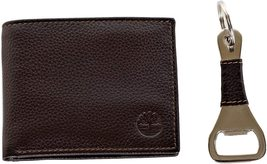 Timberland Men's Leather Billfold Logo Wallet w/Bottle Opener NP0511/01 image 6