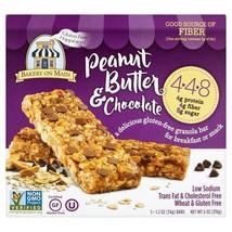Bakery On Main Gluten Free Chocolate Peanut Butter Granola Bar 5 per pack - $11.36