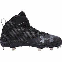 Under Armour Men's Harper One Mid ST Metal Baseball Cleats Size 7 - $104.53