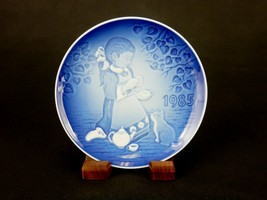 """Bing & Grondahl 5.25"""" Children's Day Plate, 1985, """"Magical Tea Party"""" ~ ... - $8.77"""