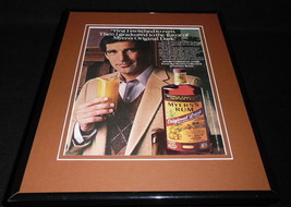 1983 Myers Rum Framed 11x14 ORIGINAL Advertisement - $32.36