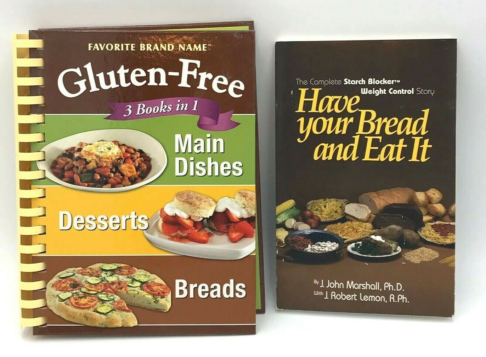 Primary image for Have Your Bread Marshall Lemon Gluten-Free 3 Books in 1 Set Recipes Cooking