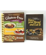 Have Your Bread Marshall Lemon Gluten-Free 3 Books in 1 Set Recipes Cook... - $8.99