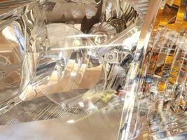 06-09 Mitsubishi Raider Headlight Head Light Lamp Driver Left LH image 4