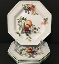 Johnson Brothers Fine English Tableware Set of 4 Desert Plates Fruits 7-... - $24.99
