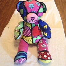 Build A Bear spring hearts floral eggs multi color 18 inch New - $28.99