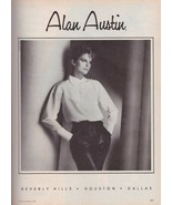 1983 Alan Austin Eileen West Charles Bush Brad Molloth Vintage Print Ad ... - $7.13