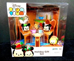 Disney TSUM TSUM Vinyl Holiday Christmas Mickey Minnie Mouse Pluto Gift ... - $13.85