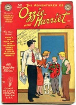 Ozzie and Harriet #2 1949- DC Golden Age- ABC radio- Osmonds VG - $151.32
