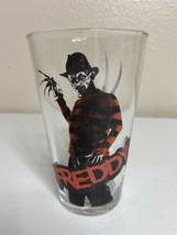 New Line Cinema Freddy Kreuger Promotional Drinking Glass Rare - $29.69
