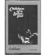 Children of a Lesser God Movie Soundtrack Cassette 1986 NEW SEALED GNP5-... - $3.99