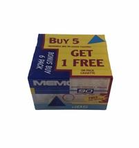 Memorex DBS 90 Vintage Audio Cassette Tapes Bonus 6 Pack New Sealed - $14.84