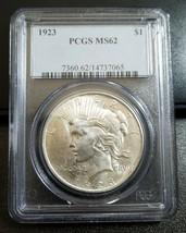 1923 Peace Dollar PCGS MS62 - $33.00