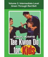 Tae Kwon Do for Kids #2 Intermediate combinations forms techniques DVD P... - $22.00