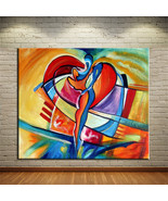 Art Oil Painting NO FRAME SQUARE CUBIC ABSTRACT O - $25.99+