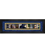 Briar Cliff University Officially Licensed Framed Campus Letter Art - $39.95