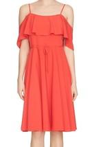 Cynthia Steffe Jackie Ruffle Cold Shoulder Dress size4 - $34.64