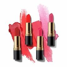 Revlon Super Lustrous Rouge à Lèvres 4.2 GM / 4.1ml Assorti 27 Teintes Durable - $20.04