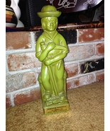Double Springs Whiskey Decanter by Eric Olsen 1968, Green Pottery Cerami... - $29.99