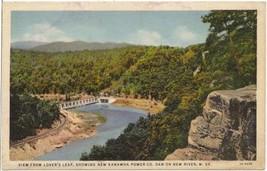 Kanawha Power Dam, New River, WV - 1933 - $4.75