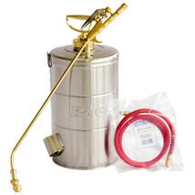 "B&G 2 Gal Sprayer 18-inch Wand 4 Way Tip 48"" Hose (N224-S) Stainless Ste... - $357.95"
