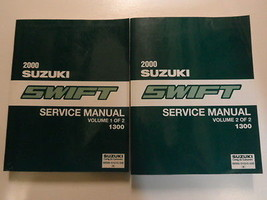2000 Suzuki Swift Service Shop Manual Factory Book 00 2 Volume Set Brand New Feo - $296.99