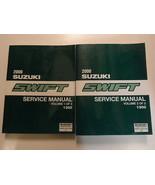 2000 Suzuki Swift Service Shop Manual FACTORY BOOK 00 2 VOLUME SET BRAND NEW FEO - $296.99